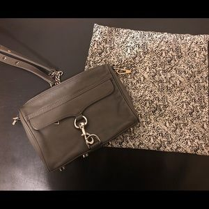 Rebecca Minkoff Mini MAC Grey 👛